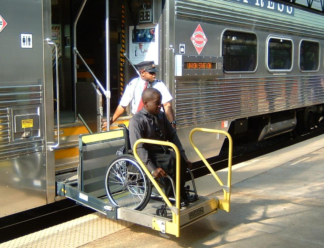 Wheelchair Lift For Car >> Ricon:: A Wabtec Company - Products: Rail Car